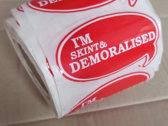 Skint & Demoralised red t-shirt photo