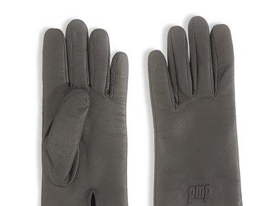 Gant de cuir silver M0851 pour vos petites mains précieuses main photo