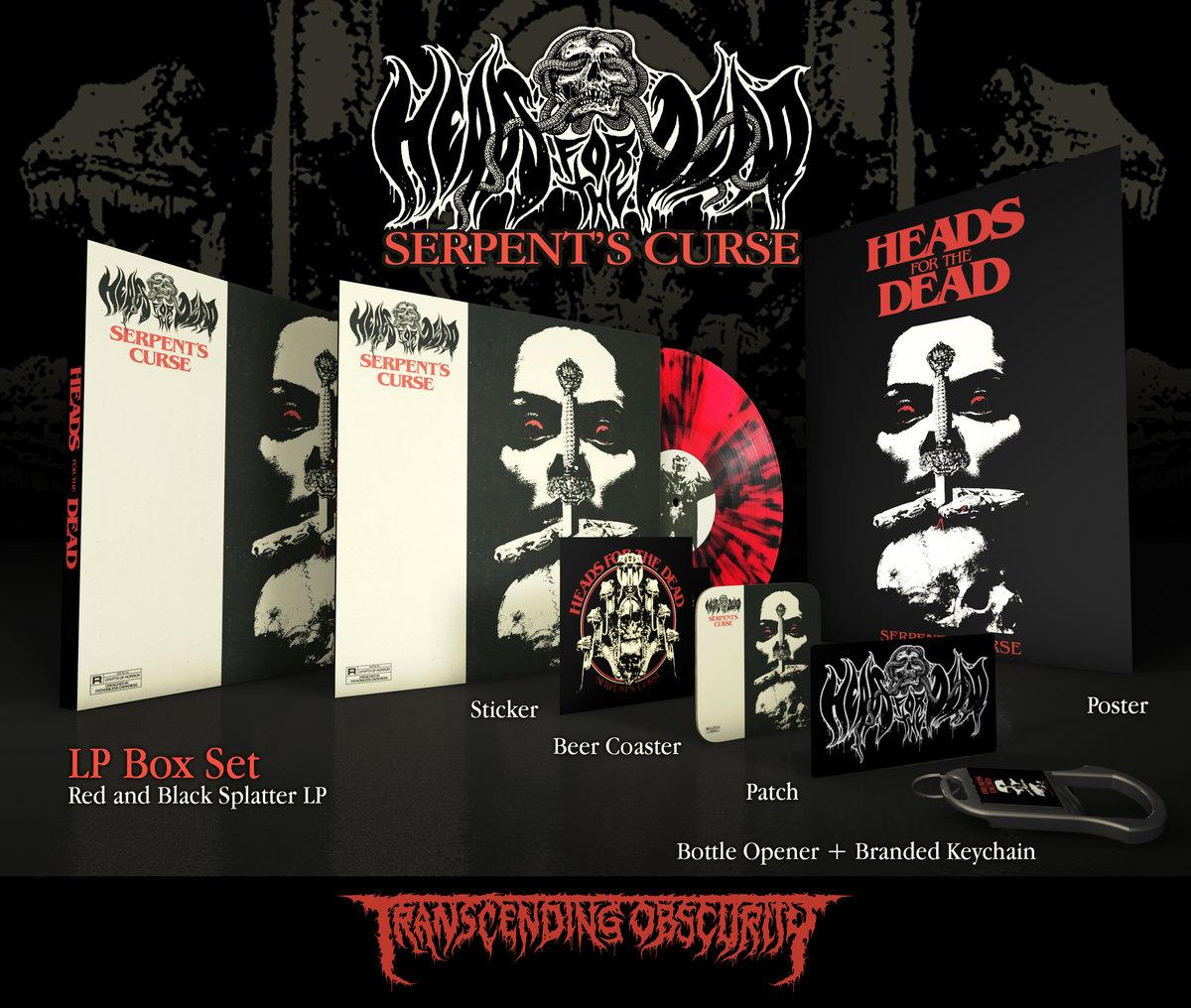 Big Back patch Warning Doom Metal logo band.