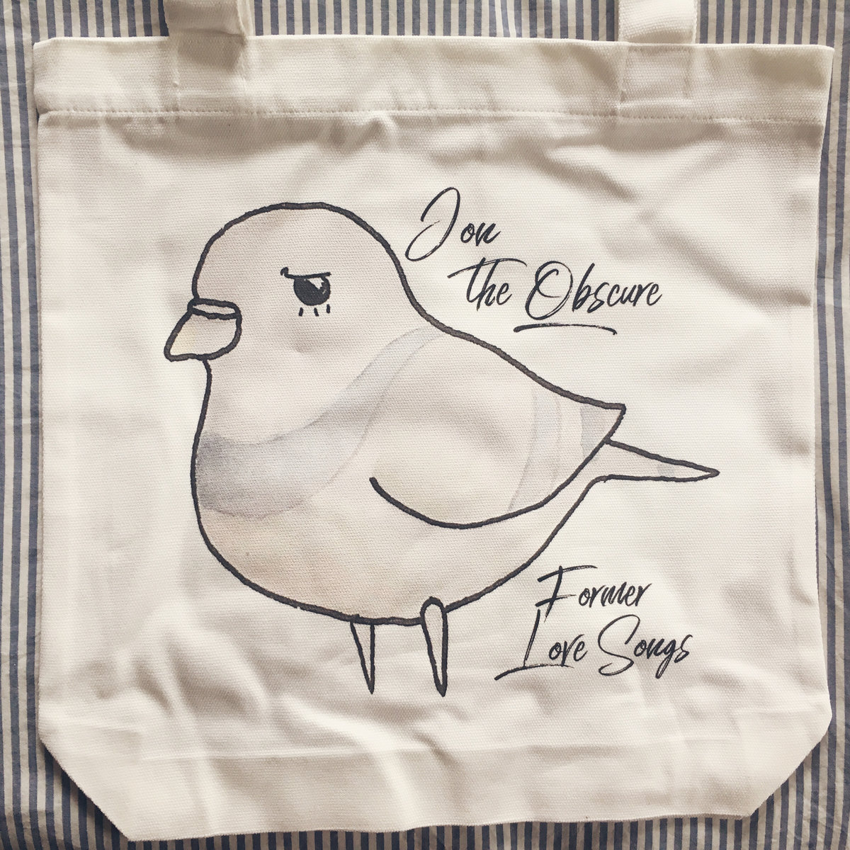Former Love Songs As Colour Tote Bags Various Colours And