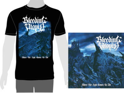 """""""Where The Light Comes To Die"""" T-SHIRT+CD Bundle main photo"""