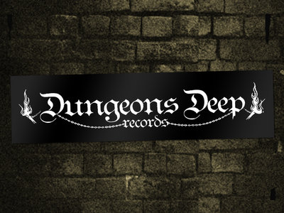 2x Dungeons Deep Records Stickers main photo