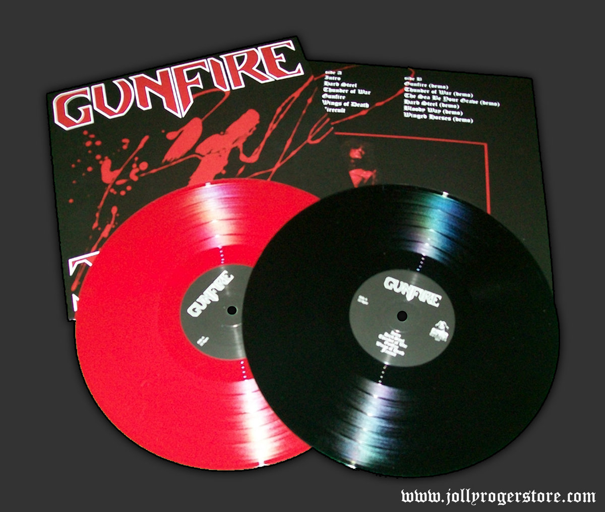 Gunfire   JOLLY ROGER RECORDS