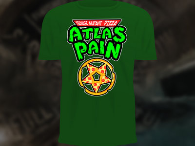 Atlas Pizza T-SHIRT Green main photo