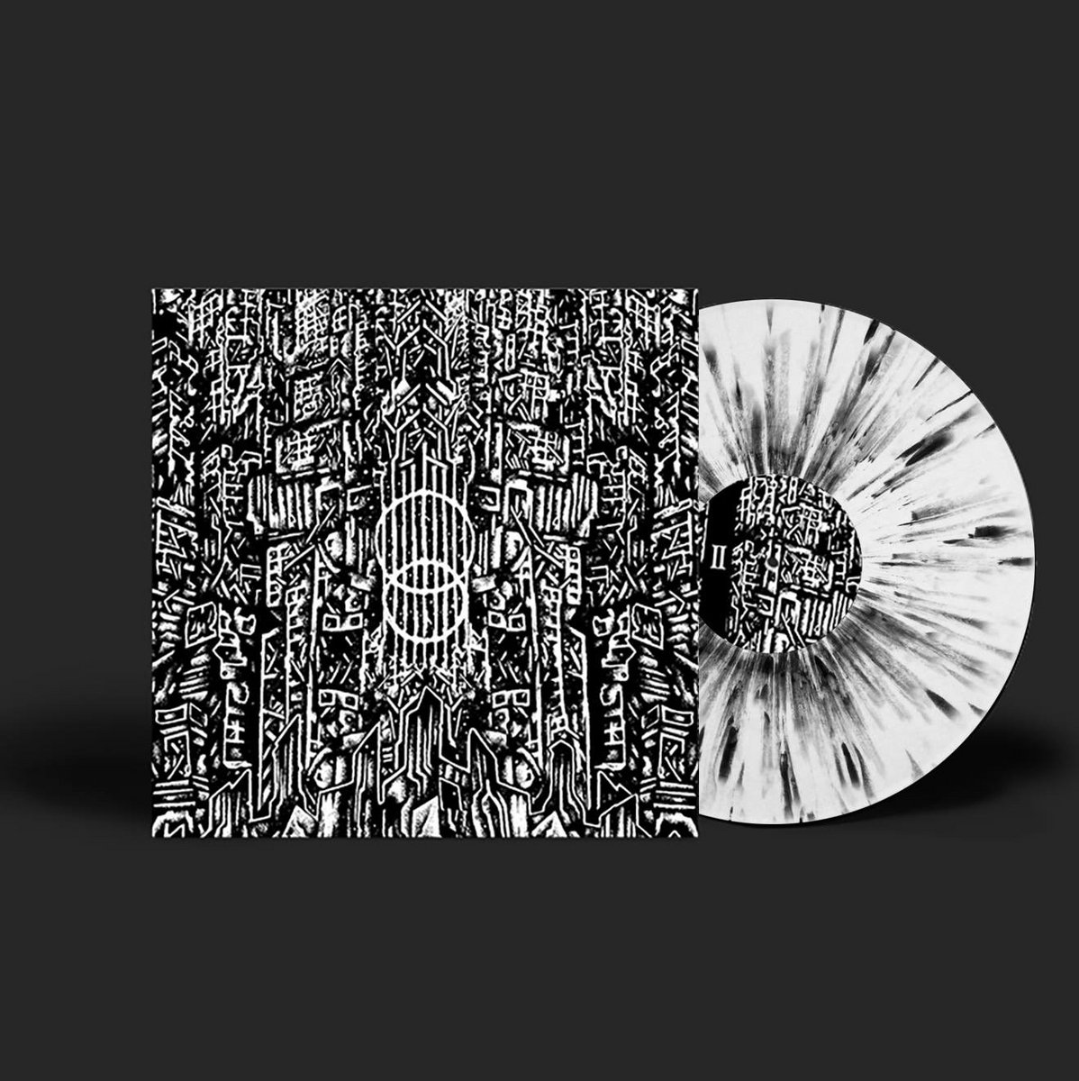 8453cbe9173 Pound s second album •• is now available on clear vinyl with black and  white splatter