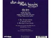 ELTON DEAN & MARK HEWINS - Bar Torque (CD) photo