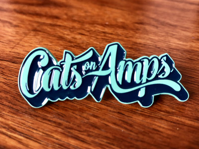 "Cats on Amps 2"" Soft Enamel Pin main photo"