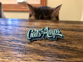 "Cats on Amps 2"" Soft Enamel Pin photo"