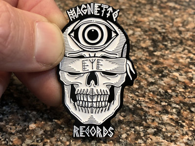 "Magnetic Eye Records Bonethrower 2"" Soft Enamel Pin main photo"