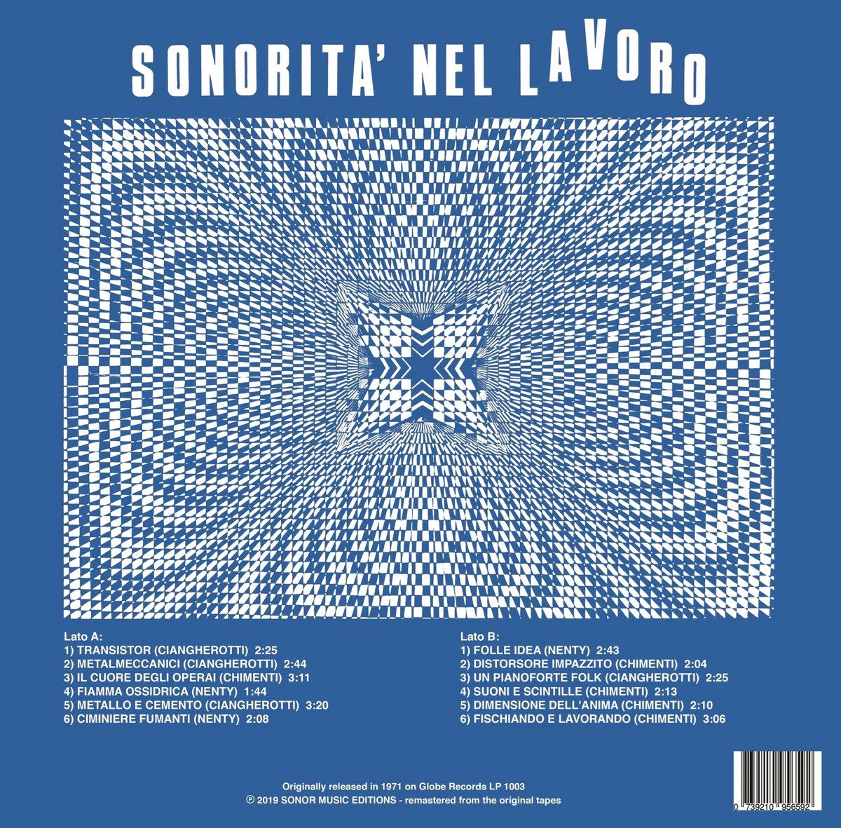 SONORITA' NEL LAVORO | SONOR Music Editions
