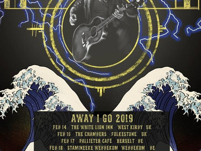 SALE - Away I Go - Limited Edition Tour Poster main photo