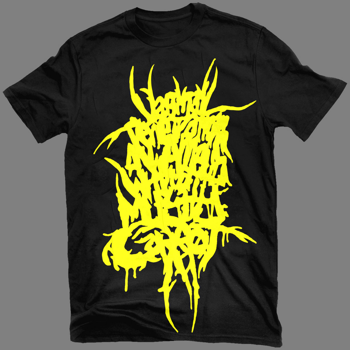 "a73324956 After the ""Rotten Green"" print, let's welcome the ""Piss Yellow"" version of  the iconic ""Fuck Off"" T-shirt by VxPxOxAxAxWxAxMxC!"