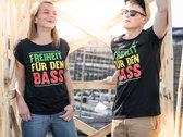 """""""Freiheit für den Bass"""" Shirt 2018 Men photo"""