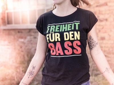 """""""Freiheit für den Bass"""" Shirt 2018 Ladies main photo"""