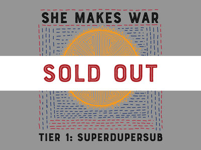 Tier 1 - Superdupersub - LIMITED EDITION 100 spaces only - analogue + digital subscription main photo