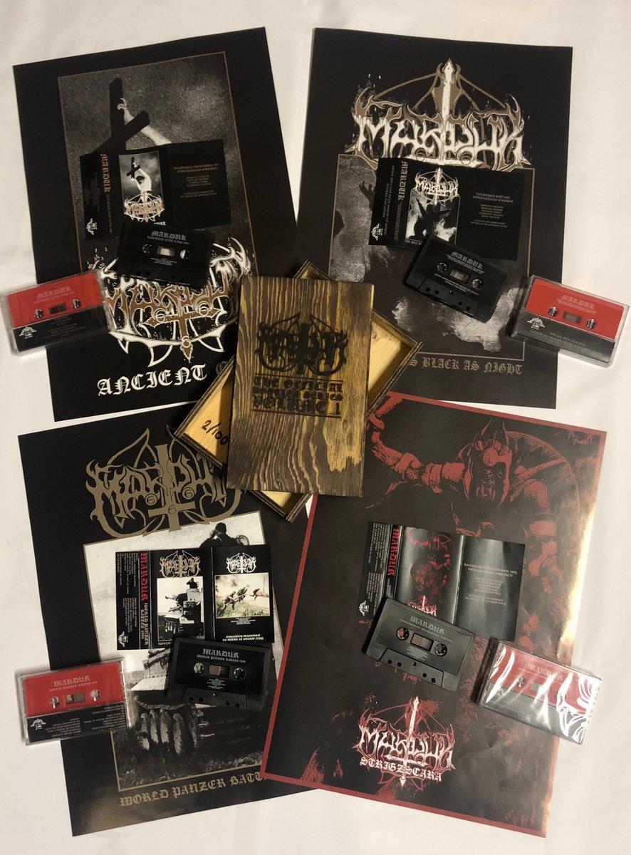 Marduk Official Bootlegs Wooden cassette-box | Helter Skelter