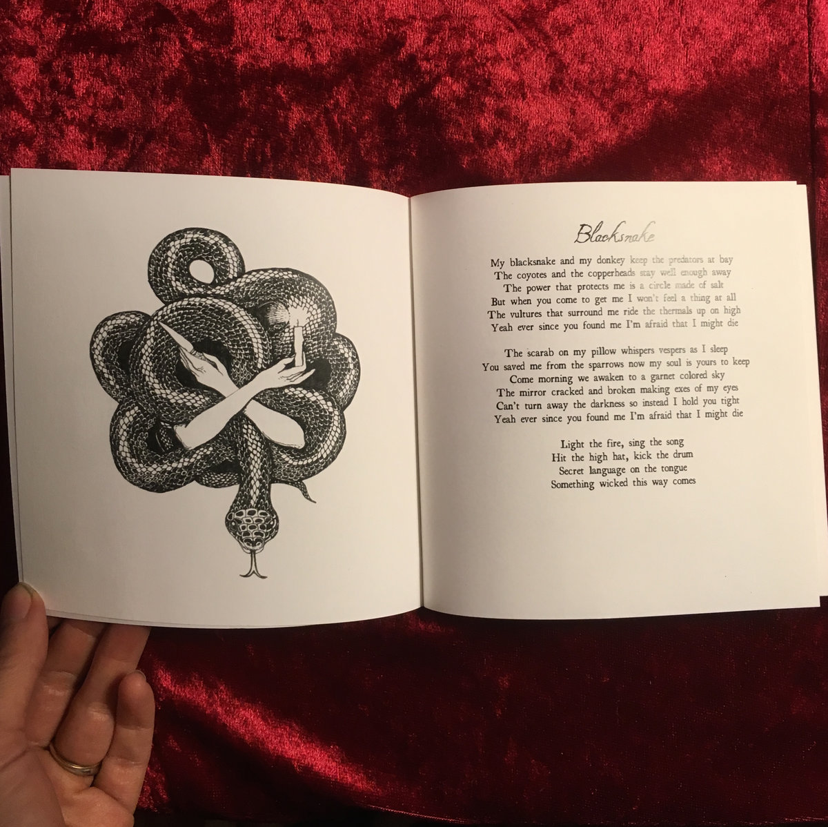 SPELLS + RITUALS – Lyrics Book | Charming Disaster