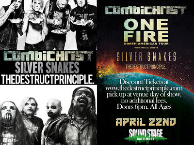 Combichrist Ticket, Baltimore Soundstage - Will Call/Pick Up At Venue Day of Show main photo