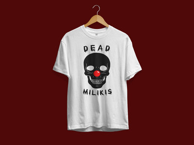 NCFM: Dead Milikis T Shirt (White) - Limited to 50 units main photo