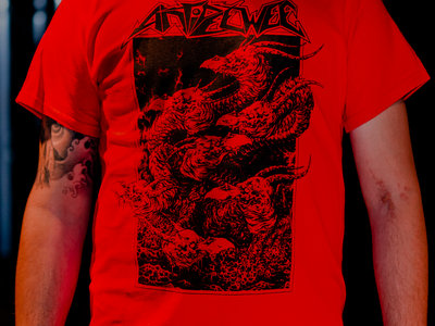 """*NEW* Shirt """"Infected By Evil"""" RED *Special Offer!* main photo"""