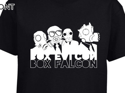 Box Falcon - Men's Tee (Black Gas Mask) main photo
