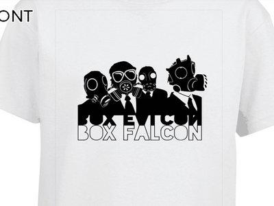 Box Falcon - Men's Tee (White Gas Mask) main photo