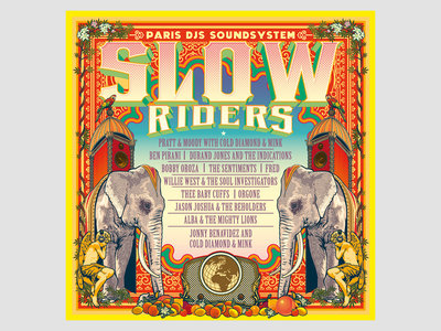 Paris DJs Soundsystem presents Slow Riders Vol.1 - Limited Edition CDR main photo