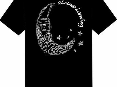 Bearded Moon T-shirt main photo