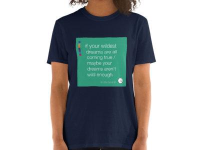 Arrive Unisex T-shirt - Navy main photo