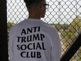 ✖ Privé Apparel ✖ Anti Trump Social Club blnc (white) LS crew photo