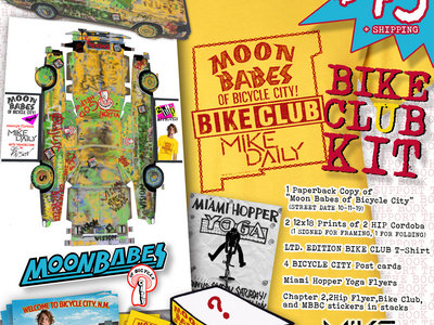 Moon Babes of Bicycle City Bike Club Kit (Book Bundle Preorder + Digital Download) main photo