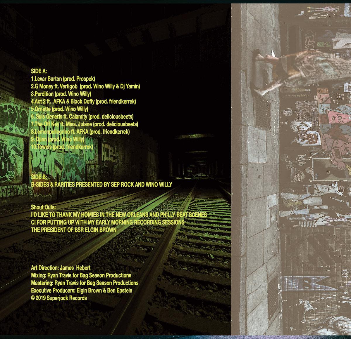 BURLAP   Superjock Records