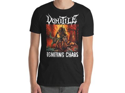 Vomitile - Igniting Chaos T-Shirt main photo