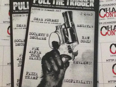 Pull The Trigger issue 3 main photo