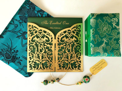 The Exalted One Deluxe Bundle: CD+Prayer cover+Beaded bookmark+Silk box main photo