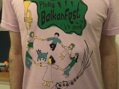 Philly BalkanFest 2019 T-shirt main photo