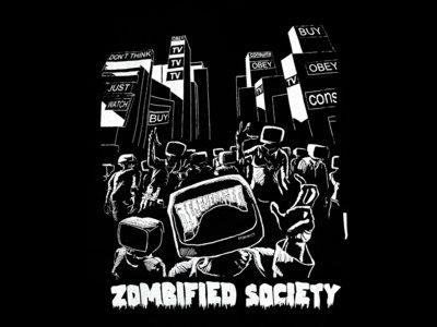 Zombified Society - Black main photo
