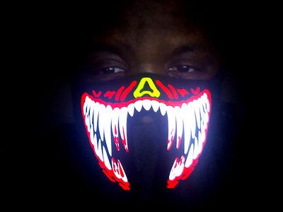 Custom Crafted LED Wolf Death Killer Mask main photo