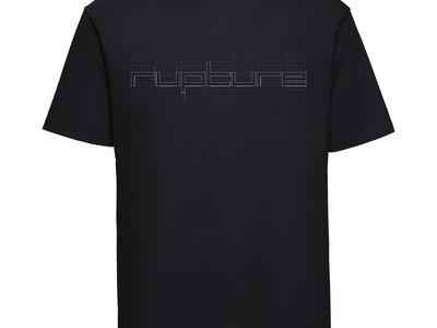 Rupture text (repeat design) T shirt main photo