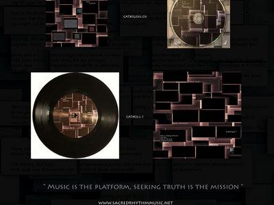 "Sacred Rhythm Music Presents: Eqwel's Audio Telemetry EP:CD:7"" Vinyl Release Package main photo"