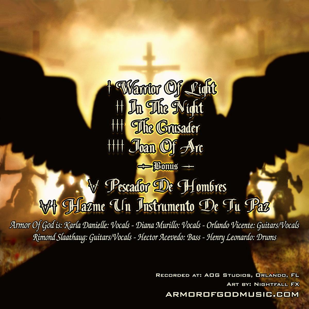 Warrior Of Light Armor Of God