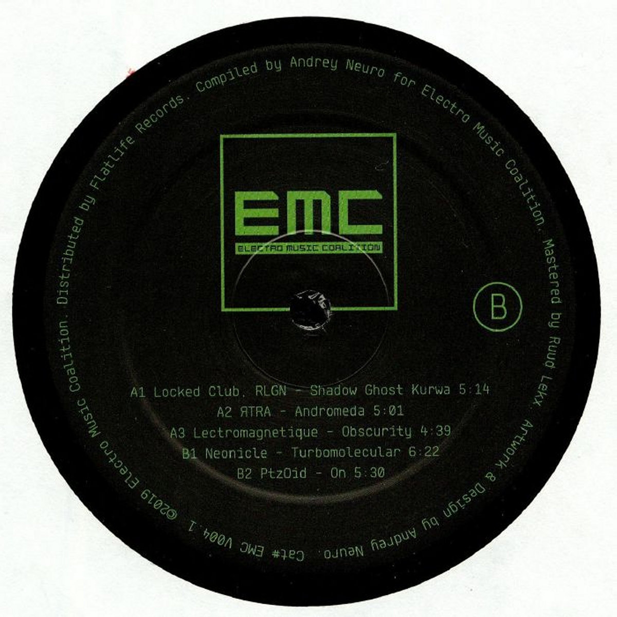 Android Funk Solution #10 (EMCV004) (VINYL ONLY) (Electro Acid