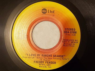 WASTED DAYS AND WASTED NIGHTS - FREDDY FENDER - NM main photo
