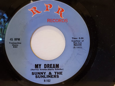 MY DREAM-SUNNY & THE SUNLINERS main photo