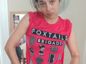 Foxtails Brigade T-Shirt in Red Fleck photo