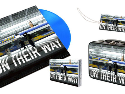 On Their Way Bundle Pack with Vinyl, Cassette, Lunch Tin & Luggage Tag main photo
