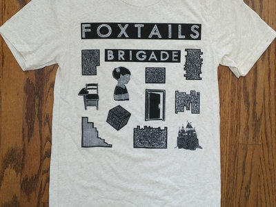 Foxtails Brigade T-Shirt in Oatmeal Fleck main photo