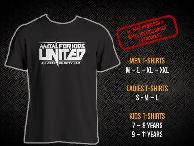 Metal For Kids. United! Logo t-shirt main photo