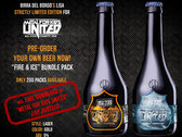 "OFFICIAL BEER ""FIRE & ICE"" Limited Edition. photo"
