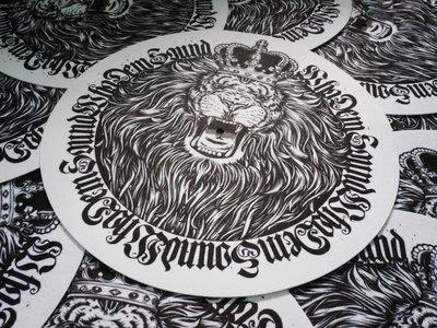 Limited Edition / B&W Lion Slipmats (Pair) main photo